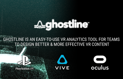 Ghostline is a new type of visualization & analytics tool for virtual reality